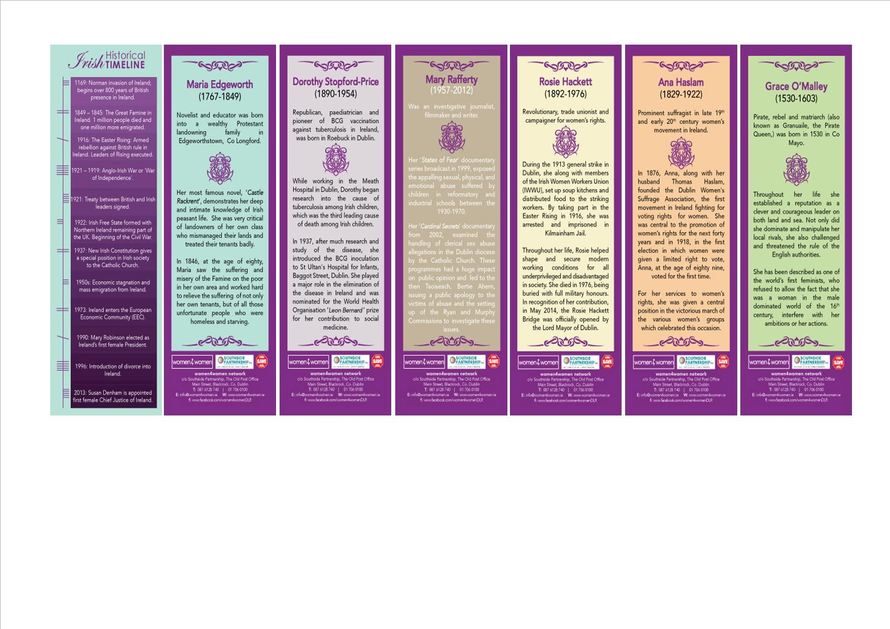 Bookmarks Historical Women